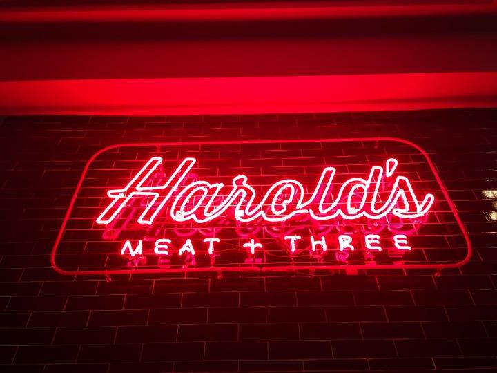 Harold's Meat +Three